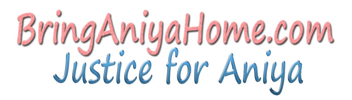 Bring Aniya Home